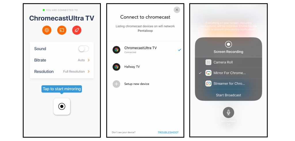 Mirror iPhone to Chromecast With This Awesome Hack - iStreamer