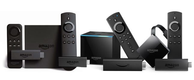Amazon Fire TV models